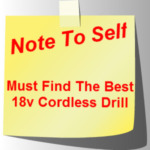 Best 18v Cordless Drill