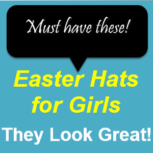Easter Hats For Girls
