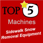 Sidewalk Snow Removal Equipment