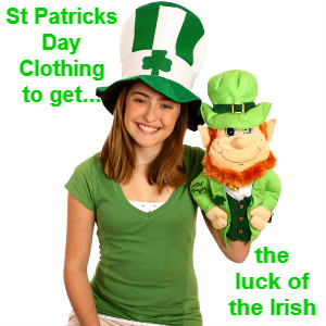St Patricks Day Clothing