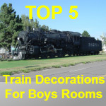 Train Decorations For Boys Room